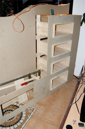 medienwand ger te in die wand integriert racks geh use hifi forum. Black Bedroom Furniture Sets. Home Design Ideas